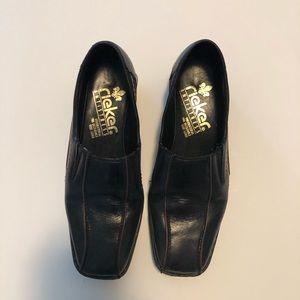 Rieker ladies leather shoes. Size 36